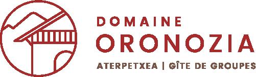 Logo Domaine Oronozia - gîte de groupe centre de vacances Baigorri Pays Basque