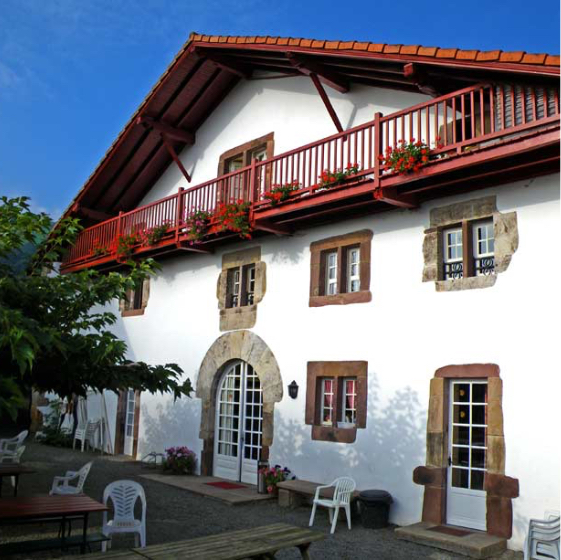 location maison basque pour groupe nombreux au Pays Basque